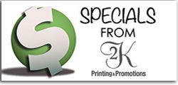 Printing Company Specials