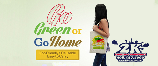 2K Printing Eco Friendly Customizable Reusable Canvas Tote Bags
