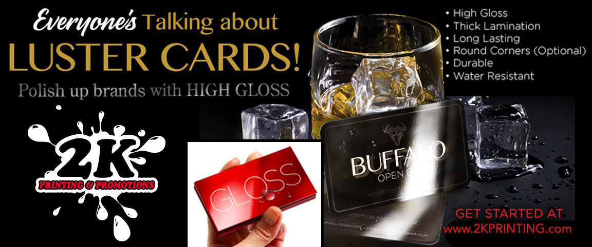 High Gloss Luster Cards Business Cards Postcards 2K
