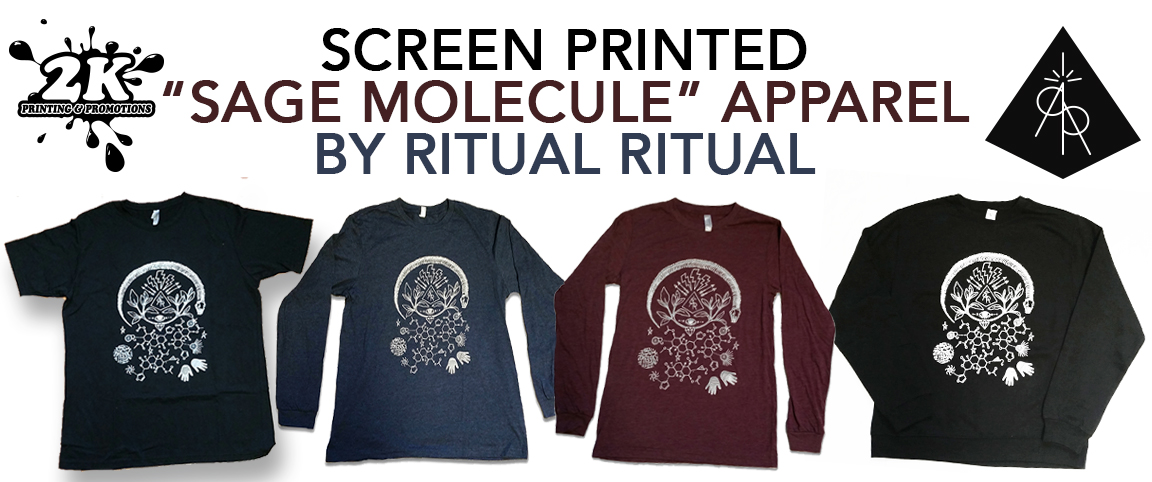 Custom Apparel, Stickers & Tote Bags By Ritual Ritual