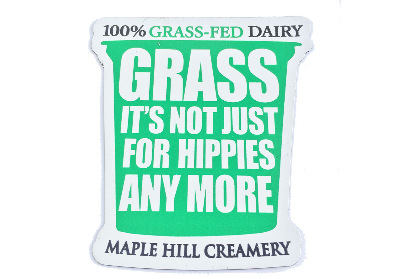 Maple Hill Creamery Die-Cut Magnet
