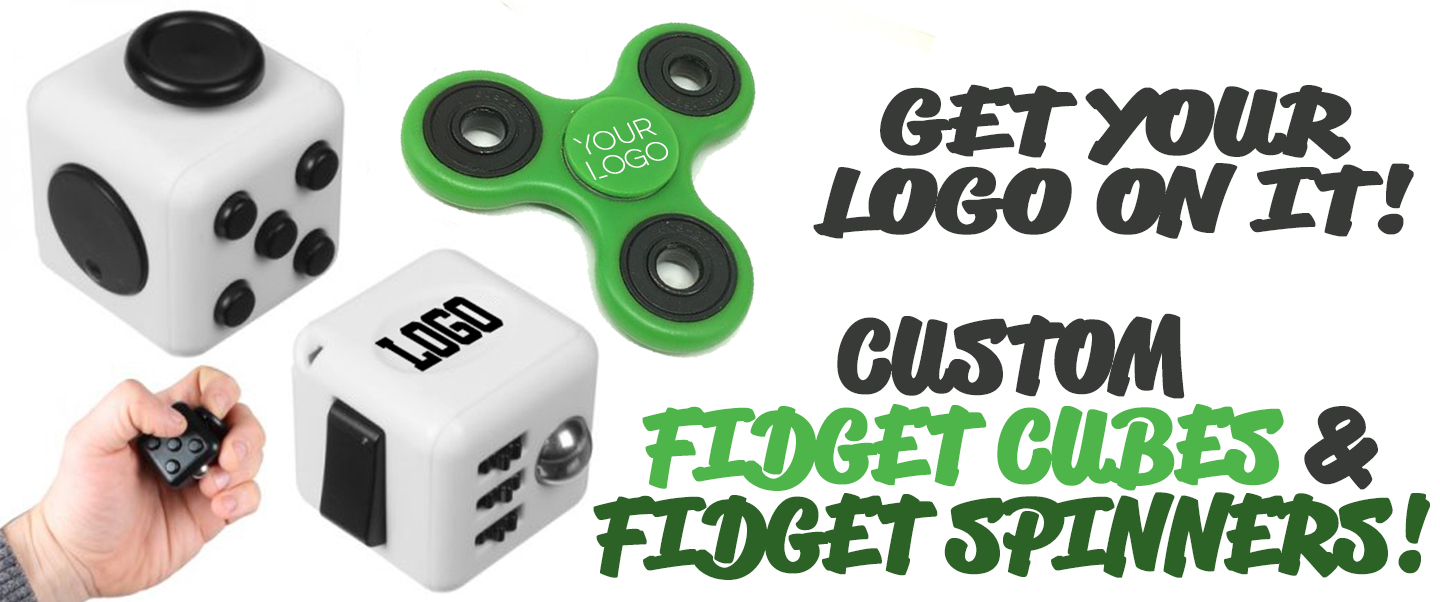 Customizable Fidget Cubes & Spinners