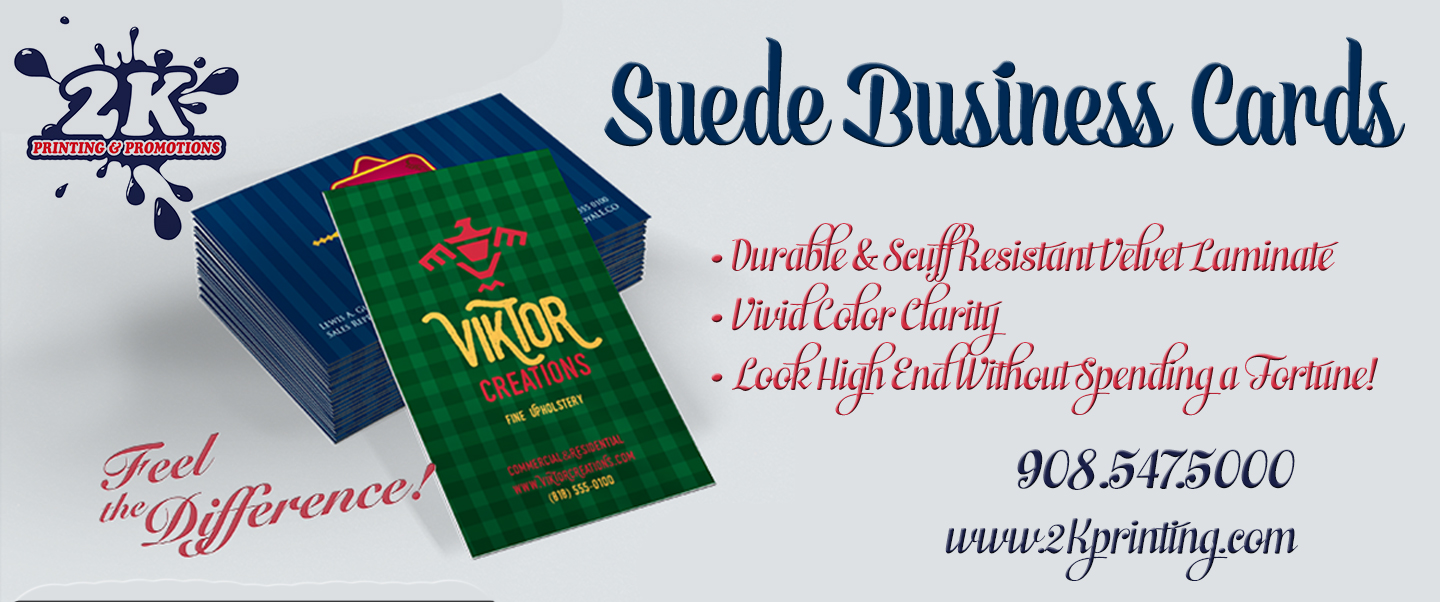 Suede business cards from 2k will create a lasting impact for How many business cards should i order