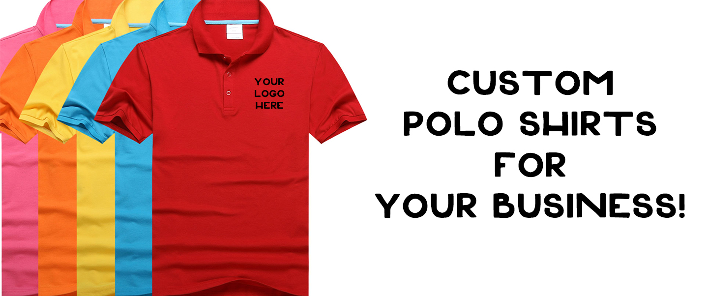 Want custom polos for your business or promotion for Custom polo shirt manufacturers